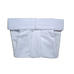 Ortopedické nohavičky suchý zips biele
