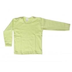 Nátelník jednofarebný veľkosť 116 (zelený)