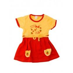 Letné šaty veľkosť 68 (Jahôdky) - červené