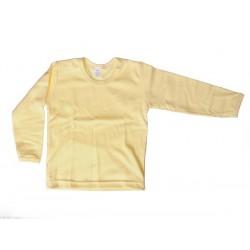 Nátelník jednofarebný veľkosť 122 (žltý)