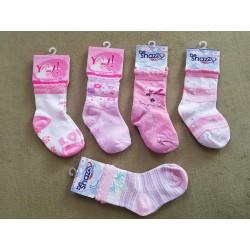 Detské ponožky veľkosť M / 1,5 až 2,5 roka