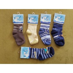 Detské ponožky veľkosť S / 9 až 18 mesiacov BOY