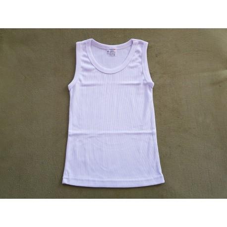 Tielko biele bavlnené veľkosť 122