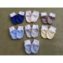 Novorodenecké rukavičky bavlnené veľkosť 56