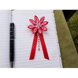 Kvet na kočík (červeno ružový) ružový kvietok