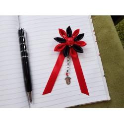 Kvet na kočík (červeno čierny) lienka červená