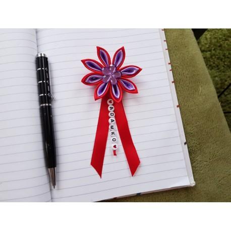 Kvet na kočík (červeno fialový) fialový kvietok